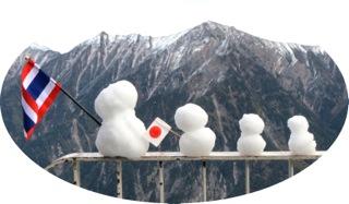 13_10 雪だるま
