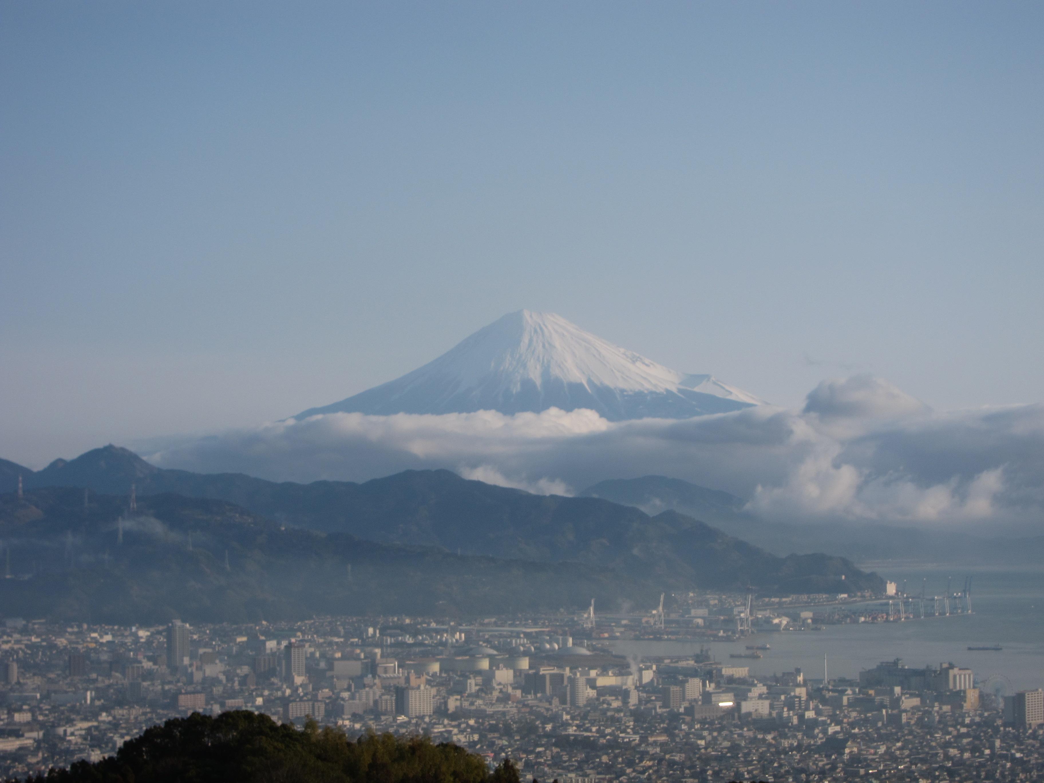 日本平ホテルより富士山②