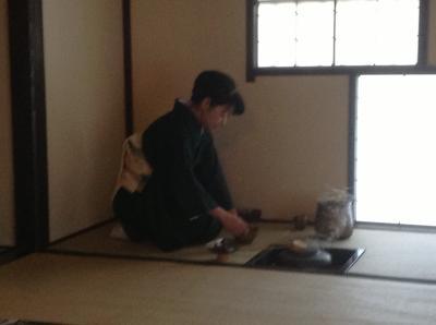 お茶の郷茶室①
