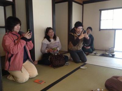 お茶の郷茶室②