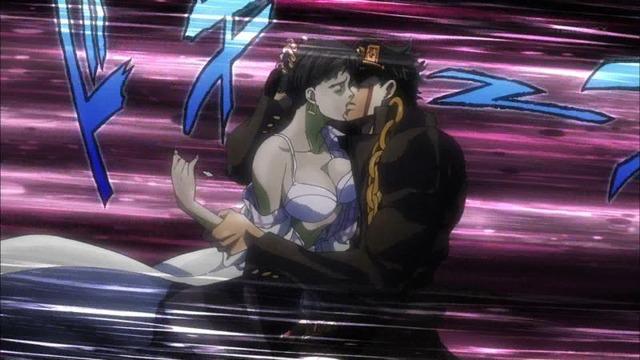 2 承太郎 女医とキス