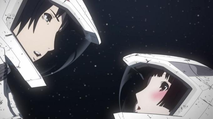 5 長道 星白 互いを見つめ合う 赤面