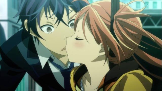 1 延珠 蓮太郎にキス