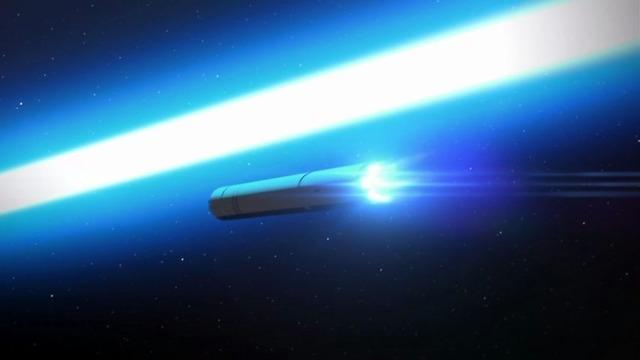 11 ヘイグス粒子砲 対惑星弾体加速弾を追い越す