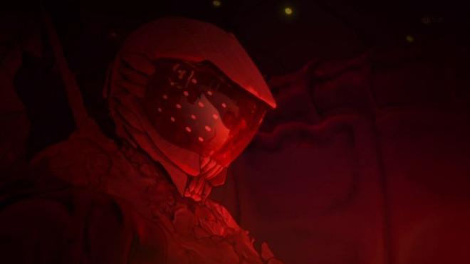 11 紅天蛾 コクピット