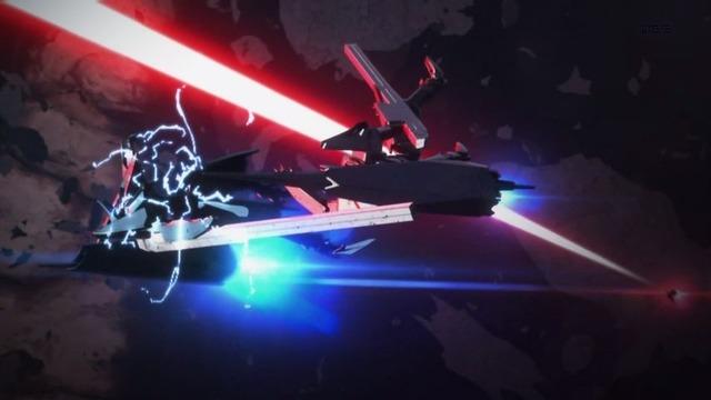 12 継衛 イザナ機 紅天蛾の攻撃を受ける