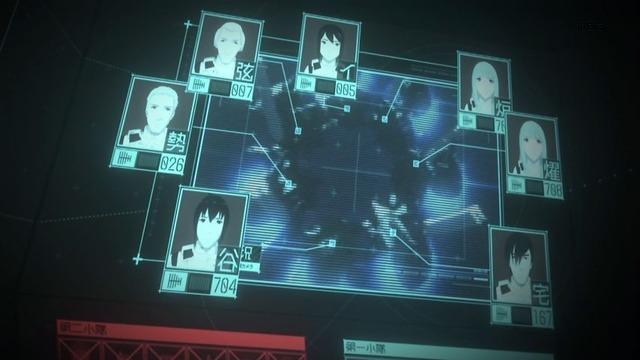 12 指令室モニター 生存者表示