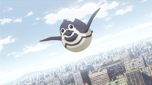2 ペンギン 空を飛ぶ