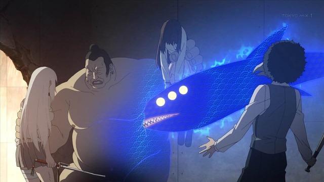 4 ヤクザ親分の腹にクジラみたいなものが リンカ 京太郎 紫