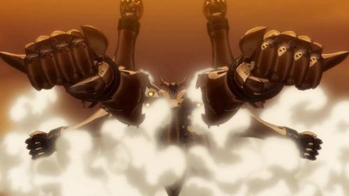 アルド 火星カタフラクト ロケットパンチ