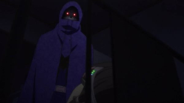 SAO 11 デスガン 現実のシノンの部屋に侵入