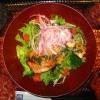 炭火焼きバジルチキンサラダ定食