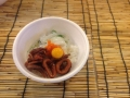 かろいち「イカ2色丼」と「夏輝」