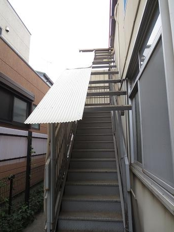 階段波板以前