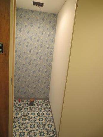 バストイレ分離トイレ完成