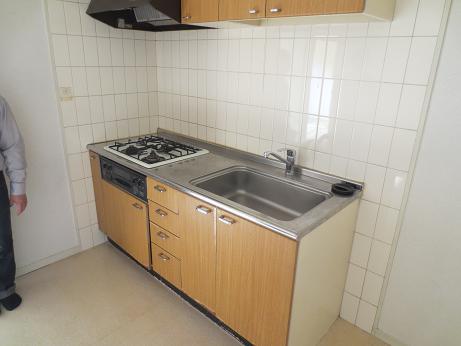 日野竣工時キッチン