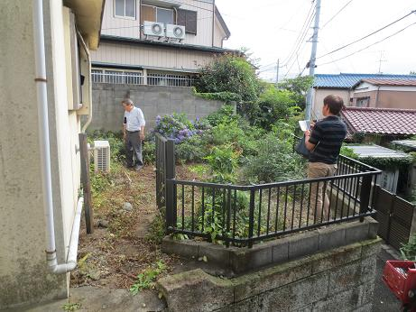 東浦和戸建て庭