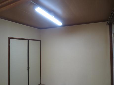 4畳半照明取付