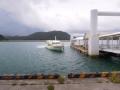 4月25日 白浜港 船浮行き