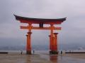 6月17日 厳島神社 大鳥居 その2