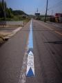 6月24日 路側帯青線