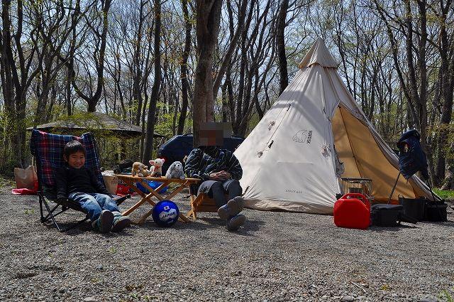②2013年5月親子キャンプ