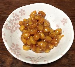 大豆の味噌炒め^^