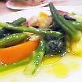 季節野菜の白ワイン蒸し