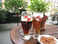 ストラスブール ビール休憩