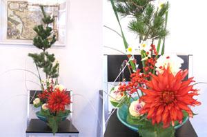 081228お正月のお花