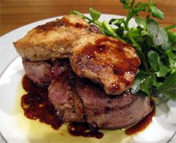0901 フォワグラ & 子牛のヒレ肉