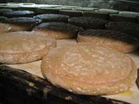 アルザス チーズ農家 熟成の進んだマンステール