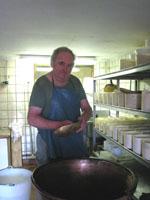 アルザス チーズ農家 お父さん