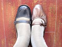 ちんばな靴