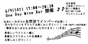 one day wine bar