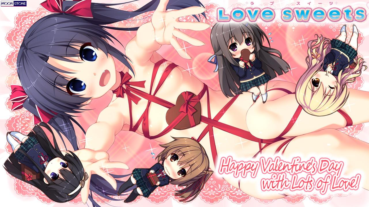 Love Sweets -ラブ スイーツ- バレンタイン壁紙