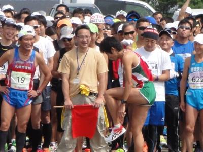 ノサップ岬マラソン 075