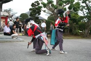 盆供養-刀剣舞