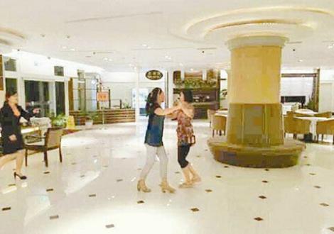 中国人 ダンス おばちゃん 台湾ホテル