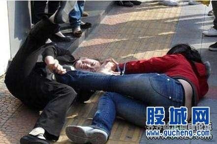 中国人 女性 喧嘩1