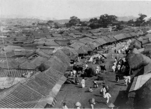 1897年 朝鮮 南大門通り