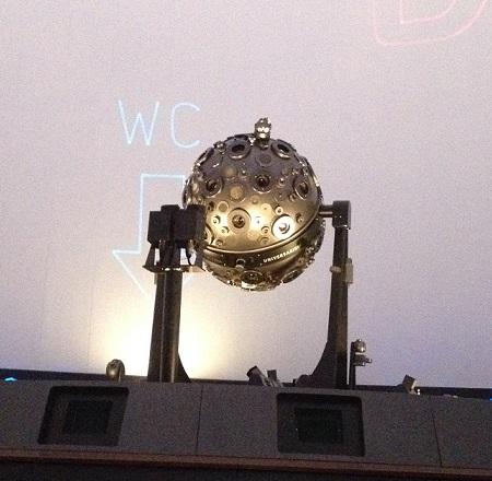 名古屋市科学館 プラネタリウム 投影機 光学式