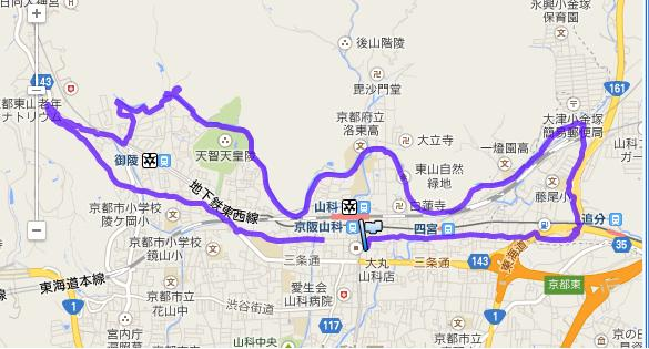 琵琶湖疏水と旧東海道W