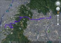 京の東山から山科へ(GE)