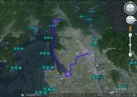 浪速例会・古戦場と奥琵琶湖の眺望(GE)