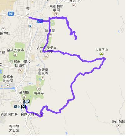 京都一周トレイル・東山②