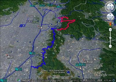 京都一周トレイル・東山①②(GE)