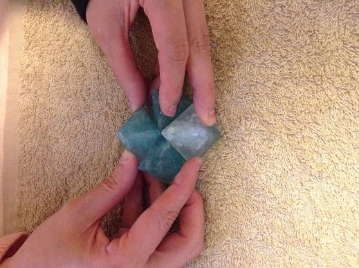 八面体フローライト 鍼灸(はりきゅう)治療院 新小岩 鍼灸