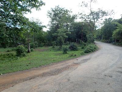 タイ田舎道