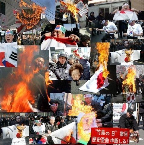 チョンの反日デモ2
